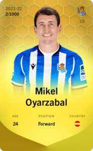 ミケル・オヤルサバルのリミテッドカード